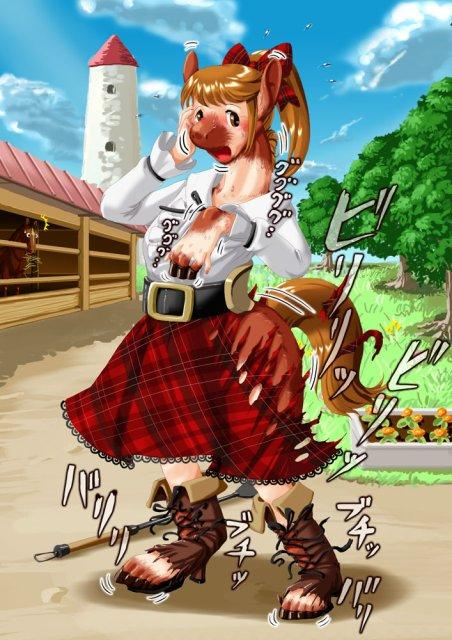 Lovely rodeo girl 4 - 100 part 8